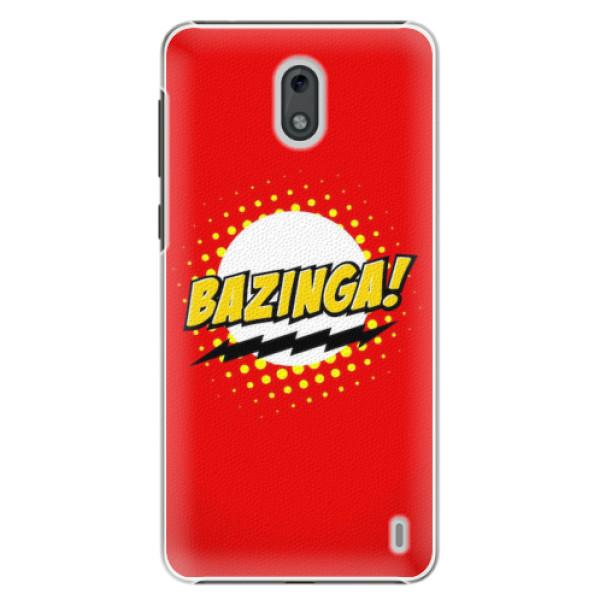 Plastové pouzdro iSaprio - Bazinga 01 - Nokia 2