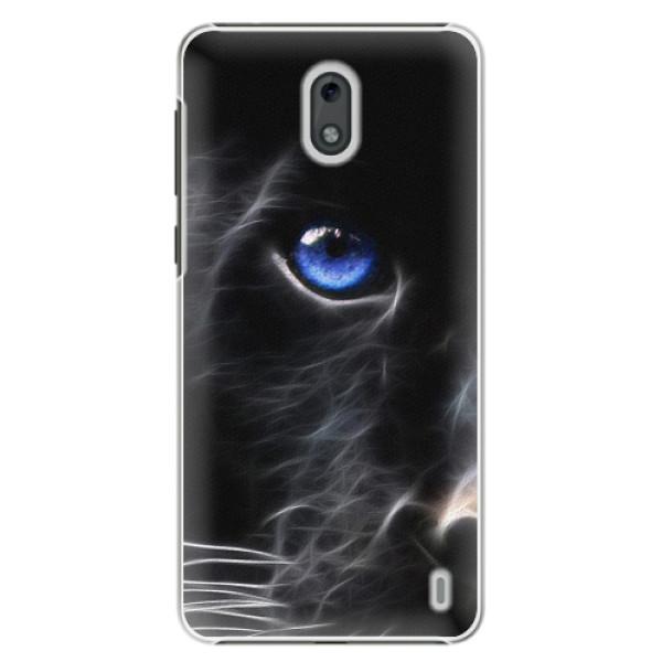 Plastové pouzdro iSaprio - Black Puma - Nokia 2