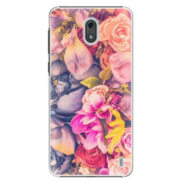 Plastové pouzdro iSaprio - Beauty Flowers - Nokia 2
