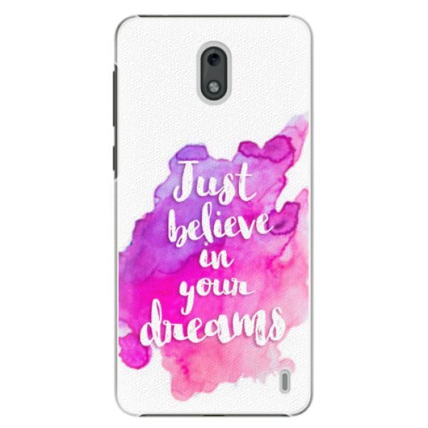 Plastové pouzdro iSaprio - Believe - Nokia 2