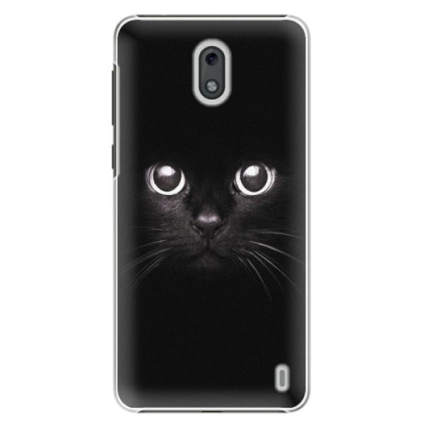 Plastové pouzdro iSaprio - Black Cat - Nokia 2