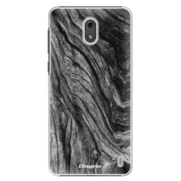 Plastové pouzdro iSaprio - Burned Wood - Nokia 2