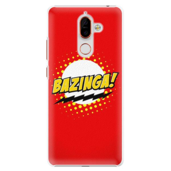 Plastové pouzdro iSaprio - Bazinga 01 - Nokia 7 Plus