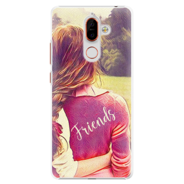 Plastové pouzdro iSaprio - BF Friends - Nokia 7 Plus