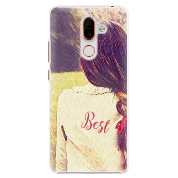 Plastové pouzdro iSaprio - BF Best - Nokia 7 Plus