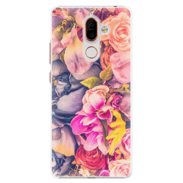 Plastové pouzdro iSaprio - Beauty Flowers - Nokia 7 Plus