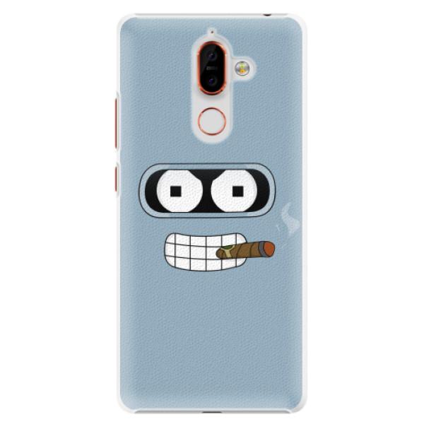 Plastové pouzdro iSaprio - Bender - Nokia 7 Plus
