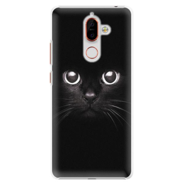 Plastové pouzdro iSaprio - Black Cat - Nokia 7 Plus
