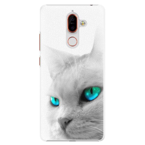 Plastové pouzdro iSaprio - Cats Eyes - Nokia 7 Plus