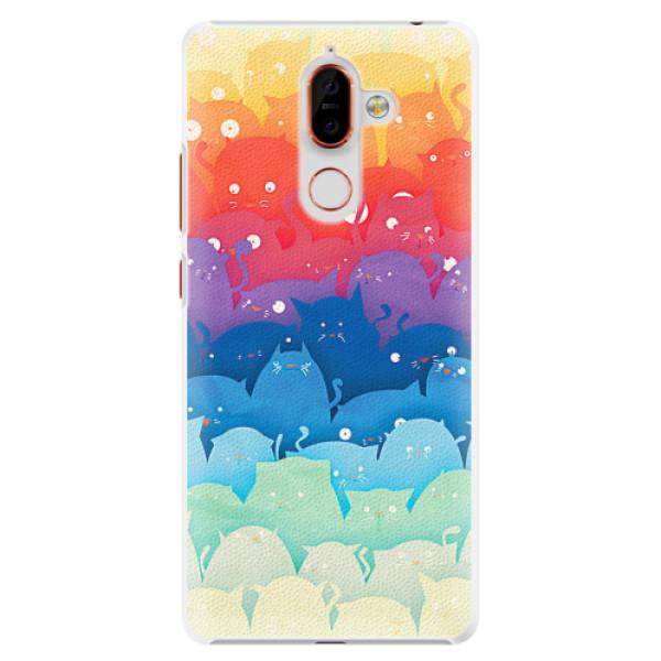 Plastové pouzdro iSaprio - Cats World - Nokia 7 Plus