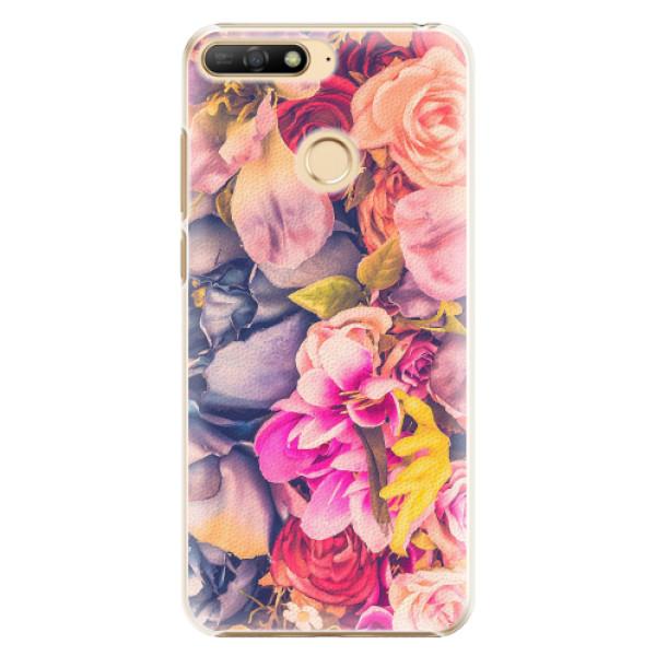 Plastové pouzdro iSaprio - Beauty Flowers - Huawei Y6 Prime 2018
