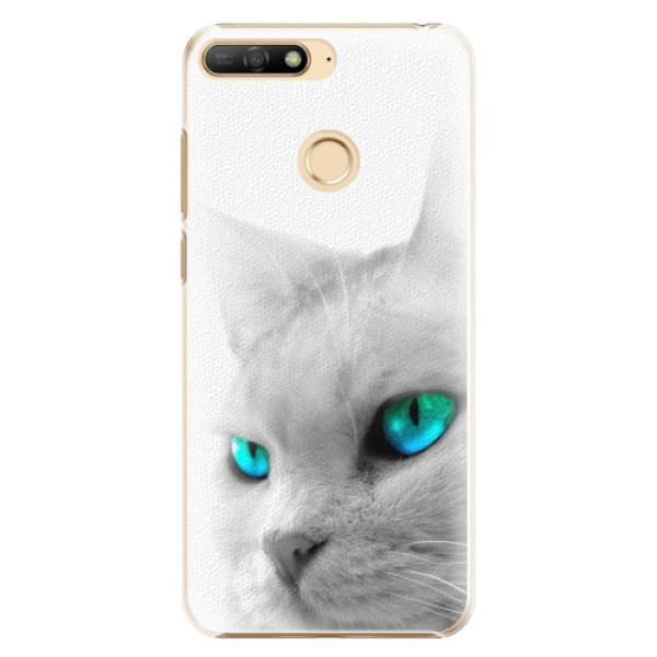 Plastové pouzdro iSaprio - Cats Eyes - Huawei Y6 Prime 2018