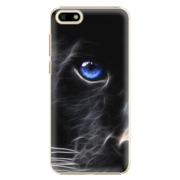 Plastové pouzdro iSaprio - Black Puma - Huawei Y5 2018