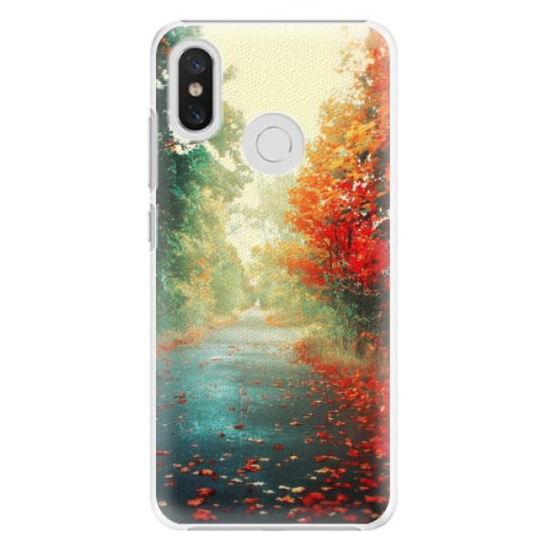 Plastové pouzdro iSaprio - Autumn 03 - Xiaomi Mi 8