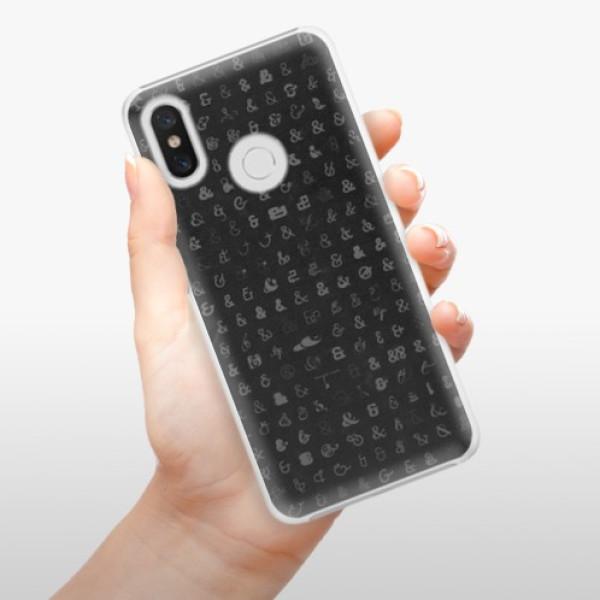 Plastové pouzdro iSaprio - Ampersand 01 - Xiaomi Mi 8