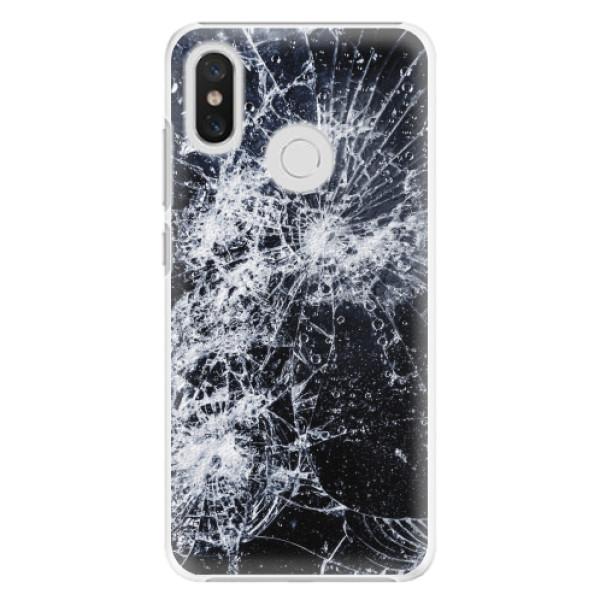 Plastové pouzdro iSaprio - Cracked - Xiaomi Mi 8