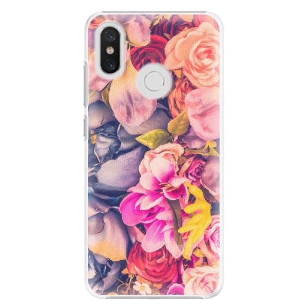 Plastové pouzdro iSaprio - Beauty Flowers - Xiaomi Mi 8