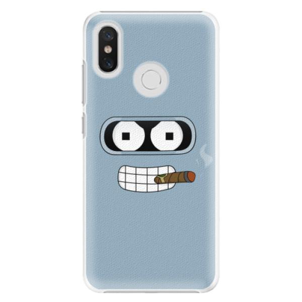 Plastové pouzdro iSaprio - Bender - Xiaomi Mi 8