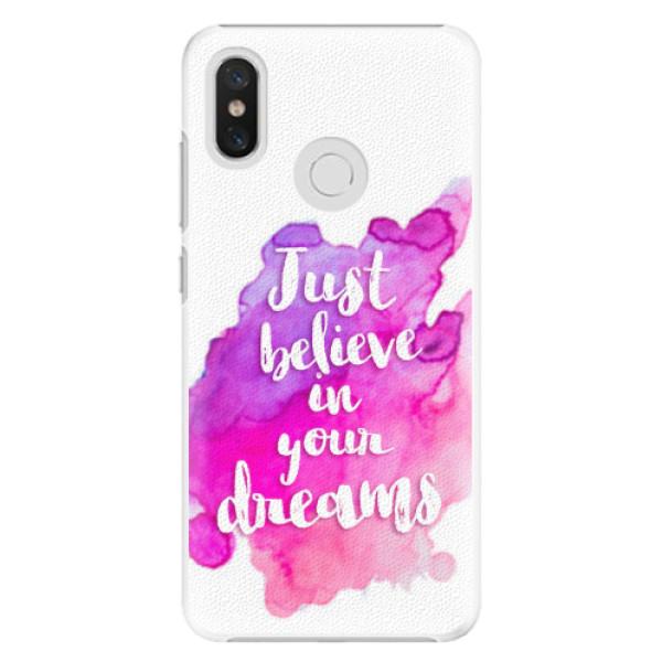 Plastové pouzdro iSaprio - Believe - Xiaomi Mi 8