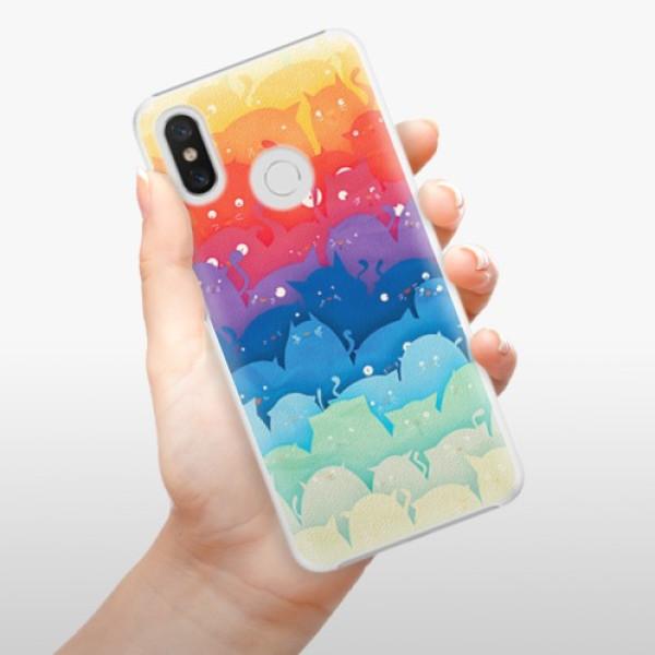 Plastové pouzdro iSaprio - Cats World - Xiaomi Mi 8