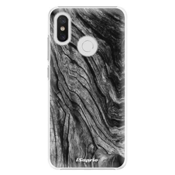 Plastové pouzdro iSaprio - Burned Wood - Xiaomi Mi 8