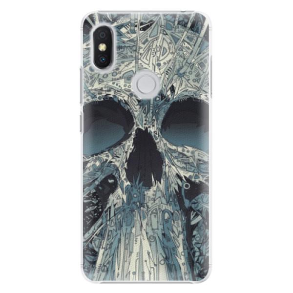 Plastové pouzdro iSaprio - Abstract Skull - Xiaomi Redmi S2