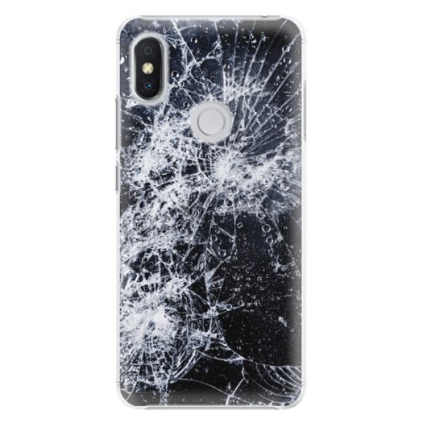 Plastové pouzdro iSaprio - Cracked - Xiaomi Redmi S2
