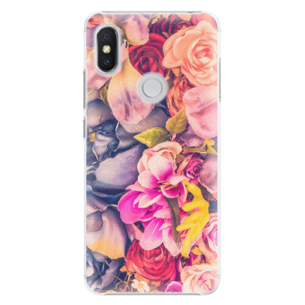 Plastové pouzdro iSaprio - Beauty Flowers - Xiaomi Redmi S2