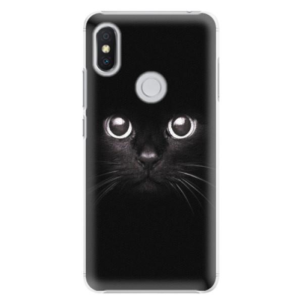 Plastové pouzdro iSaprio - Black Cat - Xiaomi Redmi S2