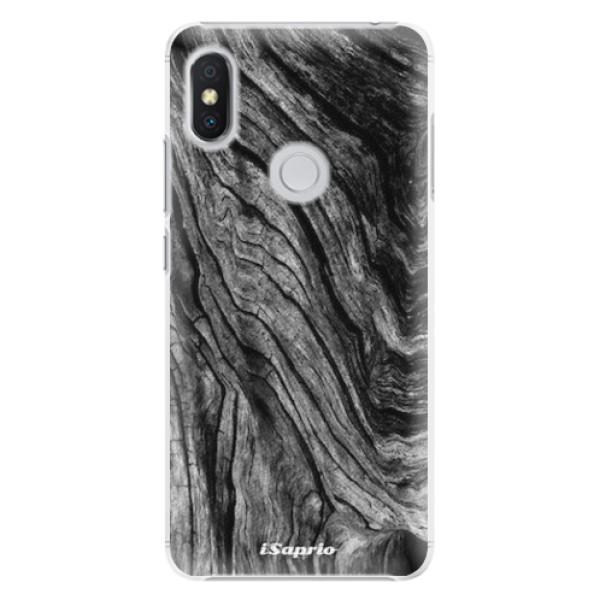 Plastové pouzdro iSaprio - Burned Wood - Xiaomi Redmi S2