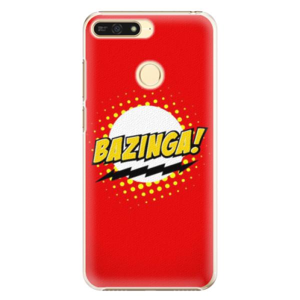 Plastové pouzdro iSaprio - Bazinga 01 - Huawei Honor 7A