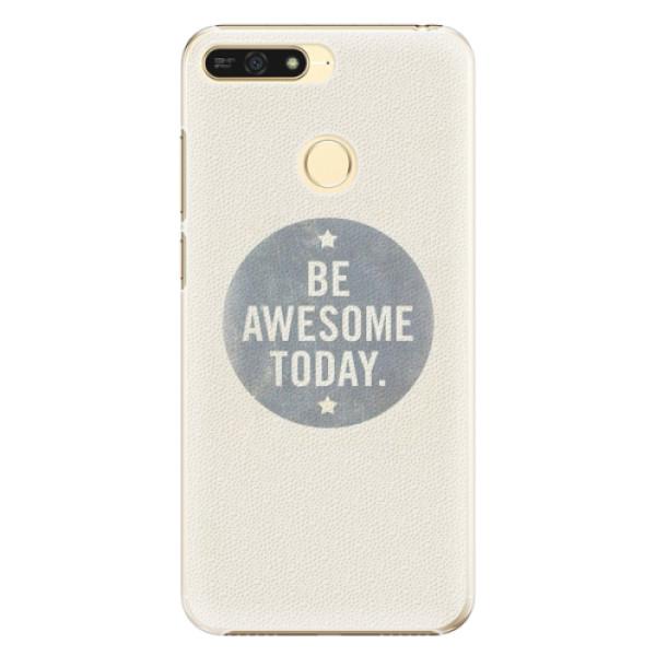 Plastové pouzdro iSaprio - Awesome 02 - Huawei Honor 7A