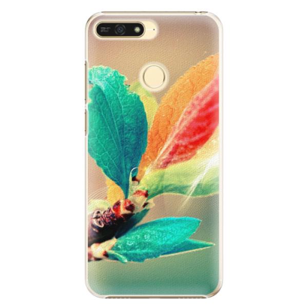 Plastové pouzdro iSaprio - Autumn 02 - Huawei Honor 7A