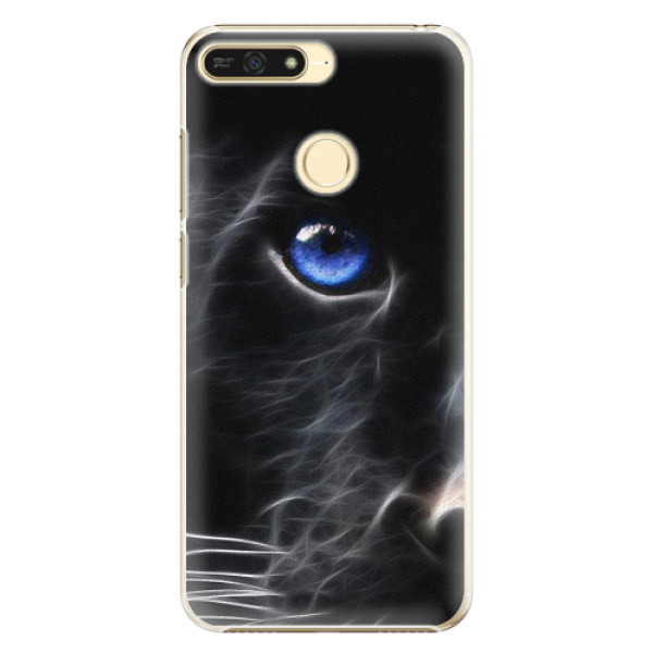 Plastové pouzdro iSaprio - Black Puma - Huawei Honor 7A