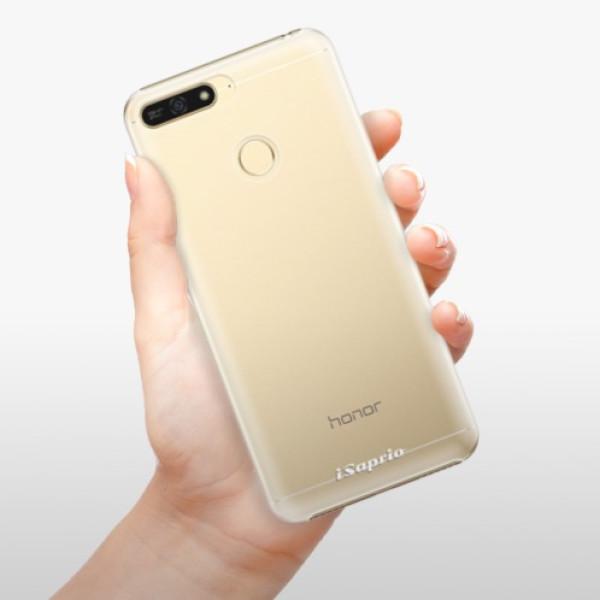 Plastové pouzdro iSaprio - 4Pure - mléčný bez potisku - Huawei Honor 7A