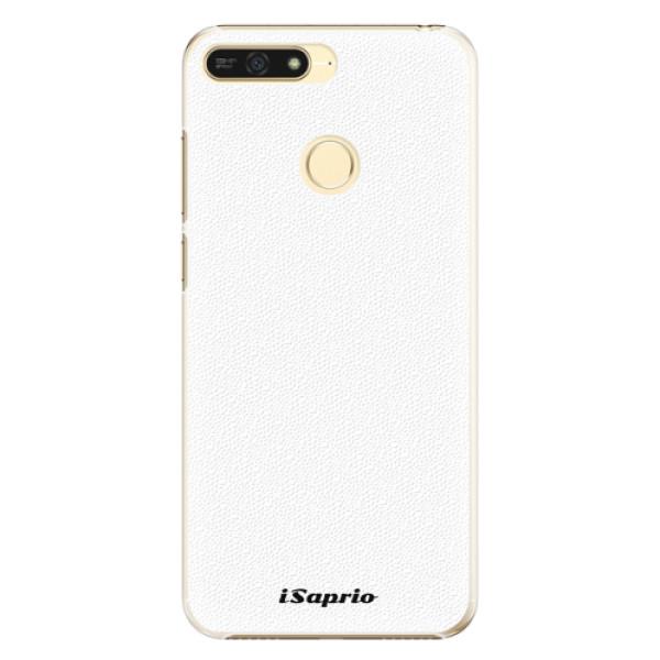 Plastové pouzdro iSaprio - 4Pure - bílý - Huawei Honor 7A