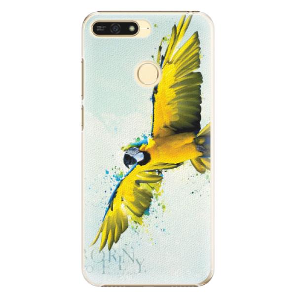 Plastové pouzdro iSaprio - Born to Fly - Huawei Honor 7A