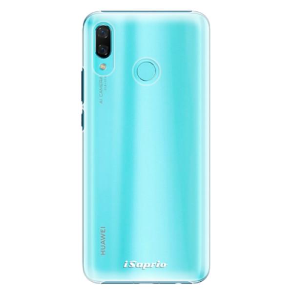Plastové pouzdro iSaprio - 4Pure - mléčný bez potisku - Huawei Nova 3