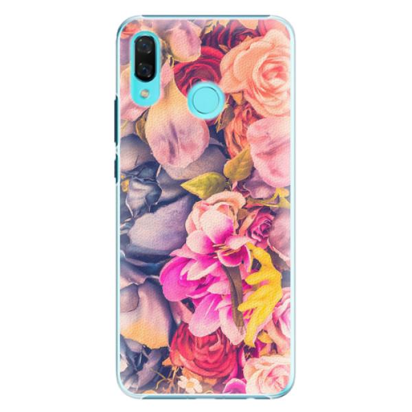Plastové pouzdro iSaprio - Beauty Flowers - Huawei Nova 3