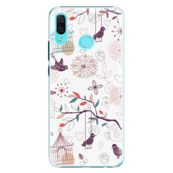 Plastové pouzdro iSaprio - Birds - Huawei Nova 3
