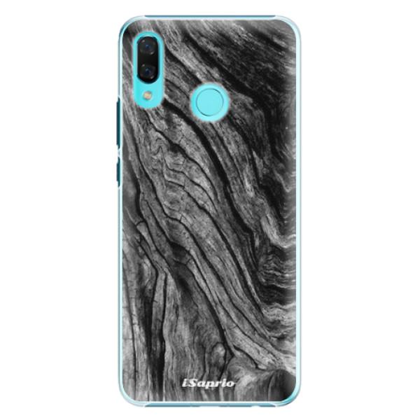 Plastové pouzdro iSaprio - Burned Wood - Huawei Nova 3