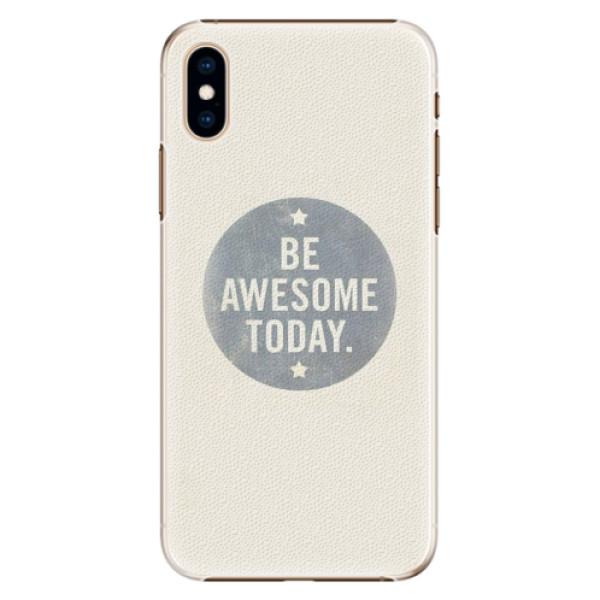 Plastové pouzdro iSaprio - Awesome 02 - iPhone XS