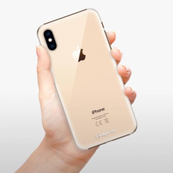 Plastové pouzdro iSaprio - 4Pure - mléčný bez potisku - iPhone XS
