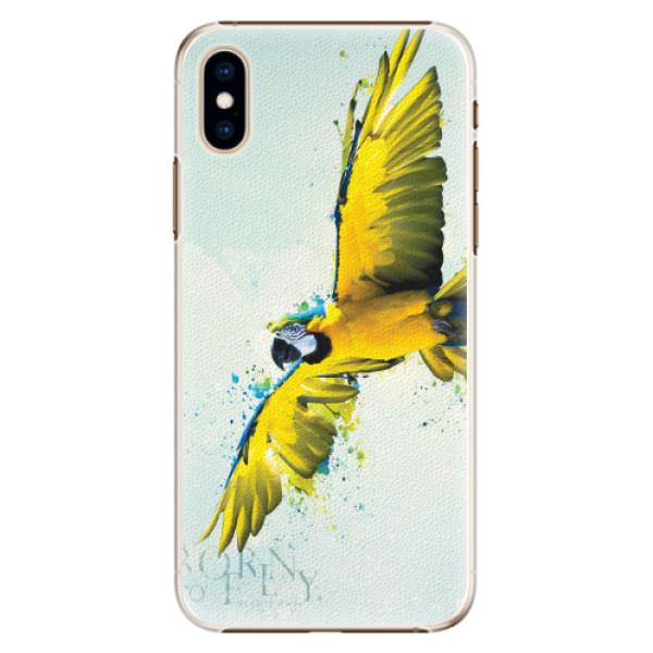 Plastové pouzdro iSaprio - Born to Fly - iPhone XS