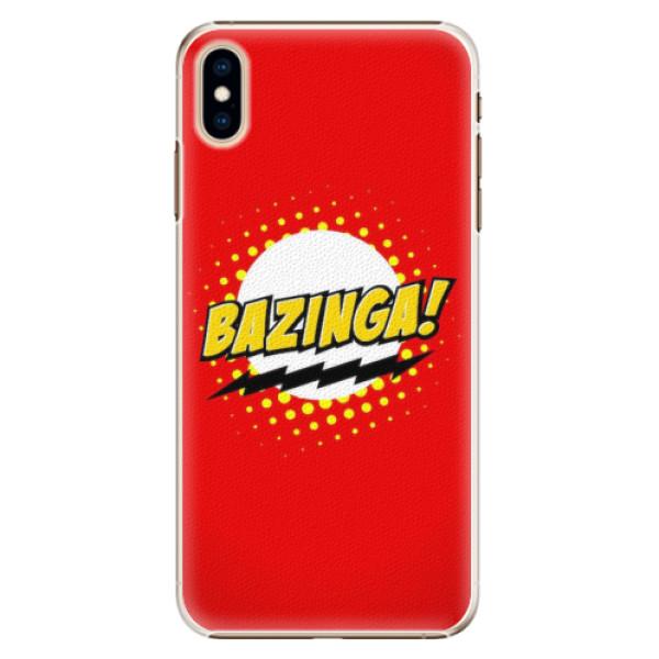 Plastové pouzdro iSaprio - Bazinga 01 - iPhone XS Max