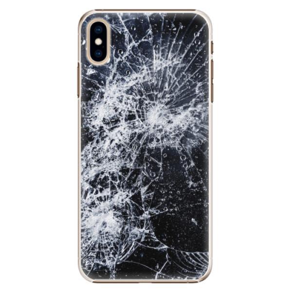Plastové pouzdro iSaprio - Cracked - iPhone XS Max
