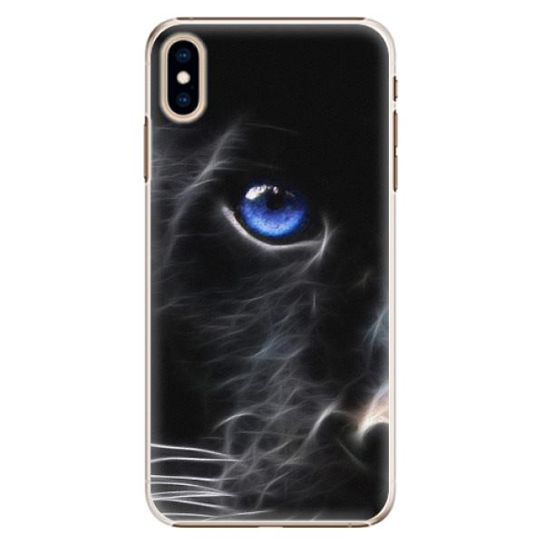 Plastové pouzdro iSaprio - Black Puma - iPhone XS Max