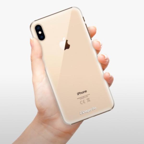 Plastové pouzdro iSaprio - 4Pure - mléčný bez potisku - iPhone XS Max
