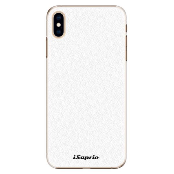 Plastové pouzdro iSaprio - 4Pure - bílý - iPhone XS Max