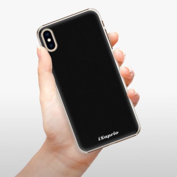 Plastové pouzdro iSaprio - 4Pure - černý - iPhone XS Max